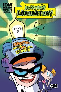 Dexter's Laboratory #2 (of 4) Derek Fridolfs (w) • Ryan Jampole (a & c) With his sister Dee Dee removed from existence, Dexter is now an only child! He's finally able to work in his lab unhindered by her foolish games, and locates the one thing needed to reach his full potential - - but it's in another dimension! As Dexter attempts to reach it, he finds his dream is about to turn into his greatest nightmare! FC • 32 pages • $3.99
