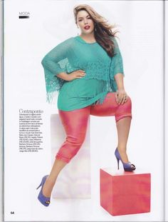 PLUS Model Magazine, We Can't Get Enough of Plus-Size Model Fluvia Lacerda – New Images