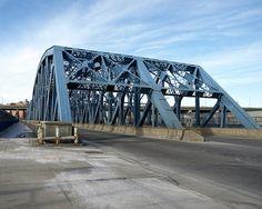 Leggett Avenue Bridge over Amtrak Tracks, Bronx, New York City