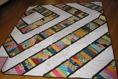 Here are some charity quilts that are ready to be distributed. Mariah, from this board, helped me enlarge the pattern with the cardinal print/brown. Quilting Projects, Quilting Designs, Quilting Ideas, Scrappy Quilts, Baby Quilts, Patch Quilt, Quilt Blocks, Scrap Quilt Patterns, Quilting Board