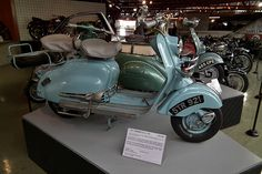 1957 Lambretta LD 150 scooter. Taken at the National Motor Museum in Beaulieu, Hampshire, England. Posted by sv1ambo / CC BY on 2011-07-20 09:44:51 Tagged: , 1957 , Lambretta , LD , 150 , scooter , National , Motor , Museum , Beaulieu , Hampshire , England Related
