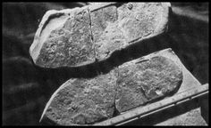 In Utah, USA, in 1968, a piece of rock was opened revealing a fossil of a sandaled shoe which seemed to have crushed a trilobite.   Humans are thought to have been on the planet for between 1 and 2 million years, and well shaped footwear only in the last few thousand years. The fossil may be up to 600 million years old. There are those who think the prints may have been made by biped extraterrestrial beings visiting our planet 600 million years ago.