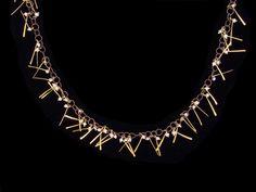 Necklaces at De Novo Fine Contemporary Jewelry, Palo Alto, CA