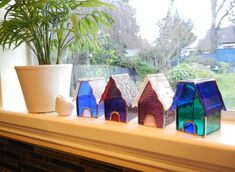 Stained Glass Houses in New Colours | Shattered by Light
