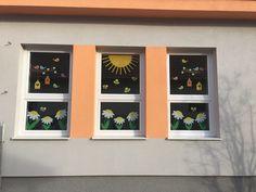 Diy And Crafts, Preschool, Easter, Jar, Windows, Spring, Frame, Decor, Kunst
