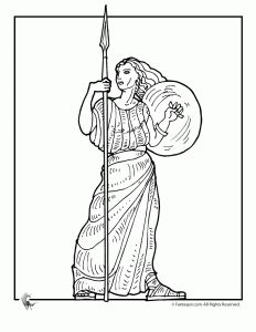 greek myths athena ancient greek gods and greek heroes coloring pages - Ancient Greek Gods Coloring Pages