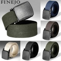 Fashion Girls Boys Adjustable All-match Belt Hot Sale Simple Unisex Korean Style Canvas Belts Harajuku Buckle Solid Color Beautiful And Charming Apparel Accessories