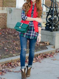 Casual Holiday Layers - Jimmy Choos & Tennis Shoes