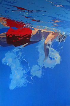 Aleksandra Matulewicz  acrylic on canvas 150 x 100 cm