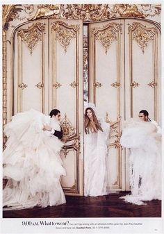 Gisele Bundchen by Karl Lagerfeld for Harper's Bazaar June 2007