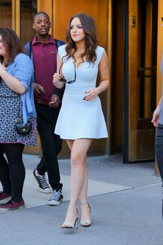 Elizabeth Gillies out and About (22 June, 2015)