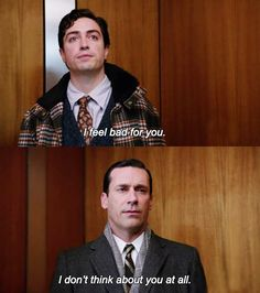 Oh snap! Mad Men. Don Draper. Jon Hamm.
