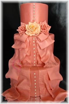 Wedding Cake - by Geelicious Confections @