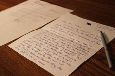 How a 42-year-old letter made a difference.  Something to consider in our high-tech world.