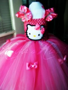 Pink Hello Kitty Tutu Dress