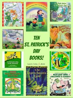 St. Patrick's Day books for kids!