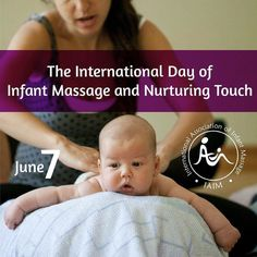 Happy International Day of Infant Massage!  Visit our site to learn about this amazing service we offer!  Calm soothe and bond with your baby by using gentle touch. #InfantMassage #CEIM #IAIM