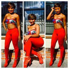 She is def representing our flag well Haitian Flag, Haitian Art, Beautiful Gorgeous, Gorgeous Women, Jamaica Outfits, Urban Fashion, Black Women, Cute Outfits, Sexy