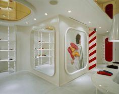 Camper Store – Modern Minimalist Fashion Shop Interior by Hayon Studio