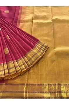 Beautiful  Kanjeevaram Silk Saree With a Classic Zari Border Product Code: AC203457 Price: ₹8,750 #Wedding #Kanchipuram #Kanjivaram #Kanjeevaram #Designersarees #Ethnicwear #Exclusivedesign #India # Saree fashion #Sari #Beautiful Saree #wedding #bridalwear #indianwedding #designer #bridal #desi #indianfashion #partywear #ethnic #sarees #onlineshopping Sarees #indianbride #indianwear #Saree love #uk #usa # canada #traditional #gorgeous #bride #elegant