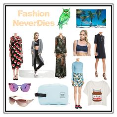 """Fashion Never dies"" by cate-jennifer ❤ liked on Polyvore featuring Simone Rocha, Christopher Kane, Avenue, Valentino, Michael Kors, Marni, Natori, Herschel Supply Co., good hYOUman and vintage"