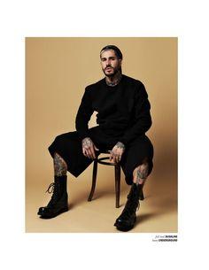 Fabian Domenech para REFLEX Homme Febrero 2016 por Joseph Sinclair