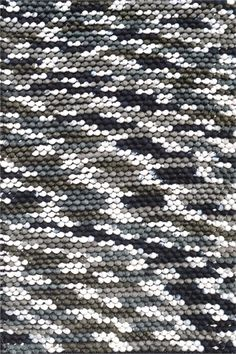 Gray Dot Rug