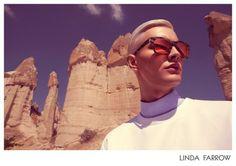 BENJAMIN JARVIS FOR LINDA FARROW SPRING / SUMMER 2014