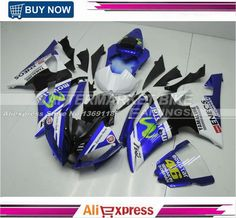 516.06$  Watch here - http://aliqfx.worldwells.pw/go.php?t=32492179397 - ABS Version OEM Fitment Superbike Fairing Kits For Yamaha YZF R6 2008-2014 Body Kits Rossi-Movistar 516.06$