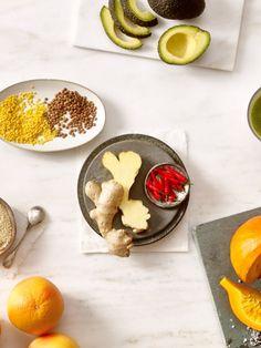 Wie Avocados, grüner Tee und Ingwer das Fett auf ganz natürliche Weise zum Schmelzen bringen - die sieben besten Fatburner-Lebensmittel.