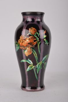 Camille Faure (French: 1874-1956) vase. : Lot 187