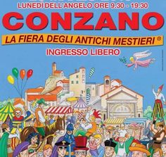 Fiera degli antichi mestieri a #Pasquetta a #Conzano in #Monferrato!