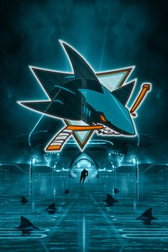 The National Hockey League (NHL) pits 30 teams who play against each other throughout the regular season in North America with the goal of earning a playoff Hockey Logos, Ice Hockey Teams, Nhl Logos, Hockey Stuff, Sports Teams, Usa Sports, Sports Logos, Shark Background, Background Pictures
