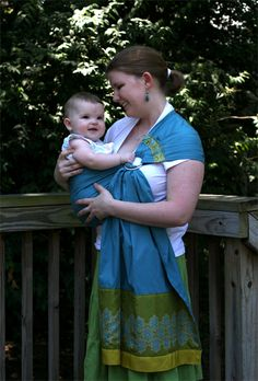 One Baby, Two Moms: DIY: Ring Sling and fun blog