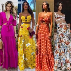 Pretty casual maxi outfits for summer. Fashion Mode, Boho Fashion, Fashion Dresses, Fashion Looks, Womens Fashion, 2000s Fashion, Summer Outfits, Cute Outfits, Summer Dresses