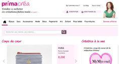 Le site des boutiques PrimaCréa a fermé