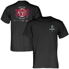 ae17c0b5 Blue 84 2016 NCAA Men's Baseball College World Series Bound T-Shirt - Black