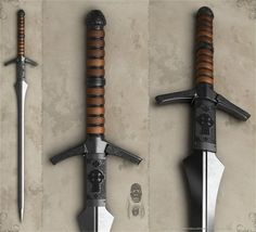 KORGATH Concept of sword for dark knight. It is speedwork. All work has been made during one session. I did it in simple way to keep it realistic and to bring attention on lines and materials. &nbs...