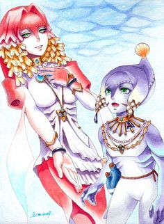 The Legend Of Zelda Twilight Princess, Queen Rutella and Prince Ralis