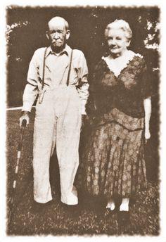 Almanzo and Laura Wilder, 1948.