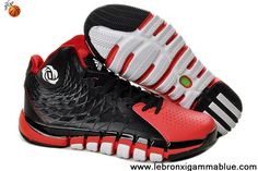 Latest Listing Discount Adidas Derrick Rose 773 II Black Red White Q33229