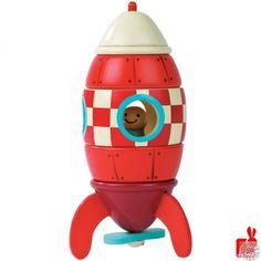 Janod magneet set Raket 18m+