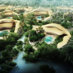 urban beach resort gardening | hainan, china | design: as architecture studio