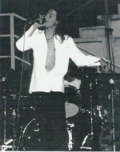 pop rock artist Luke Crumb, singing live