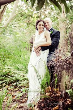 Wedding photography. Bridal Couple At the dam