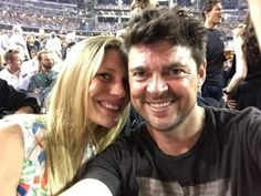 Karl and Katee at Rolling Stones concert. I approve! Celebrity Crush, Celebrity News, Robert Taylor Longmire, Karl Urban Movies, Rolling Stones Concert, Star Trek Cast, Katee Sackhoff, Bionic Woman, The Girlfriends