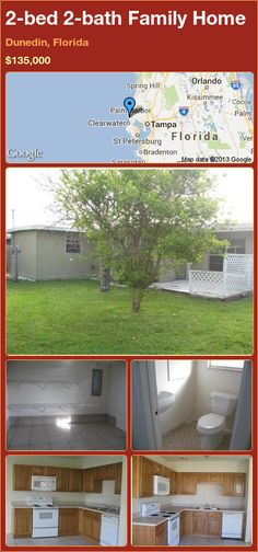 2-bed 2-bath Family Home in Dunedin, Florida ►$135,000 #PropertyForSale #RealEstate #Florida http://florida-magic.com/properties/20058-family-home-for-sale-in-dunedin-florida-with-2-bedroom-2-bathroom