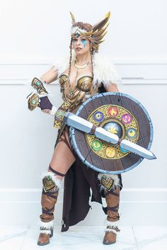 """Everything about these cosplays is brilliantly done. From the dazzling use of color and texture on each design to the inclusion of type symbols on Eevee's shield. Each person involved did an amazing job and working they were able to create something truly inspiring. This is more than just gorgeous women in awesome costumes this […]"