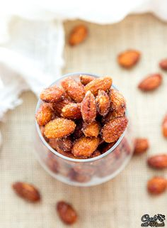 Honey roasted Almonds with a hint of salt. Highly addictive!