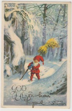 ˇˇ Christmas Mood, Victorian Christmas, Scandinavian Christmas, Christmas Images, Vintage Christmas, Christmas Cards, Xmas, Russian Folk Art, Winter Art